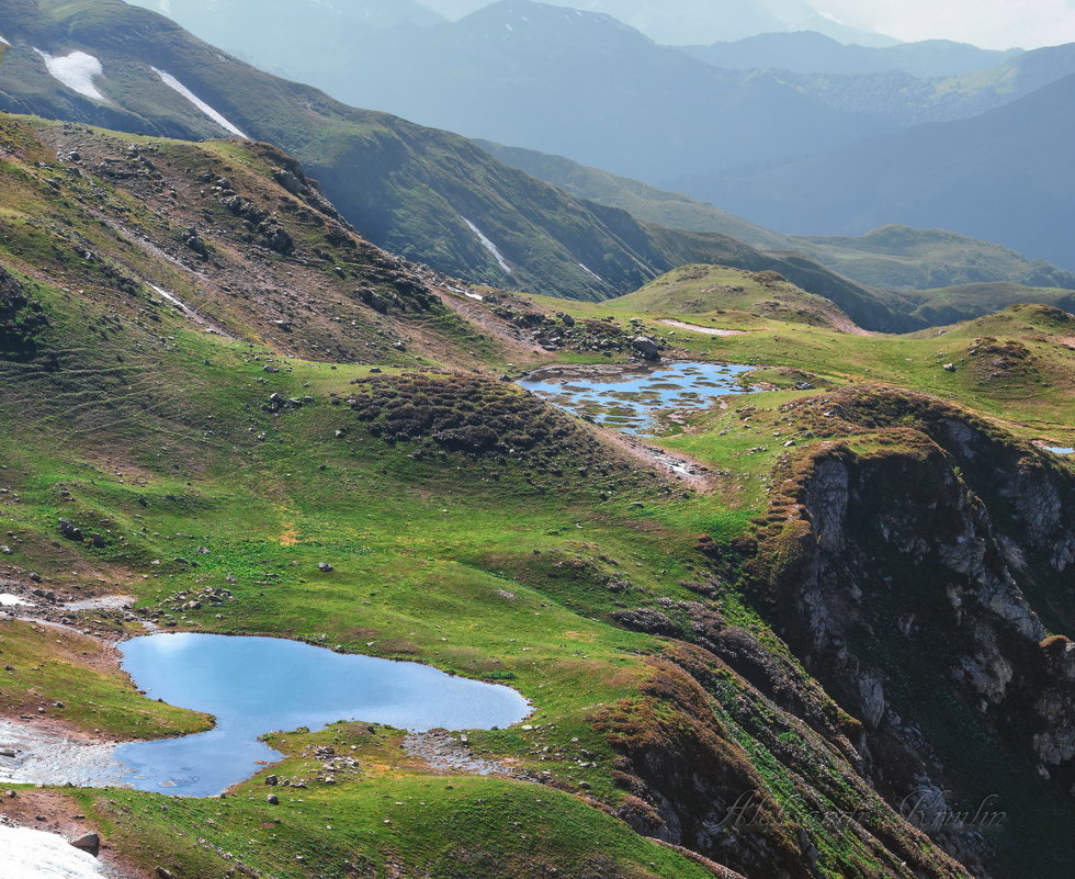 Долина Семи озер Абхазия