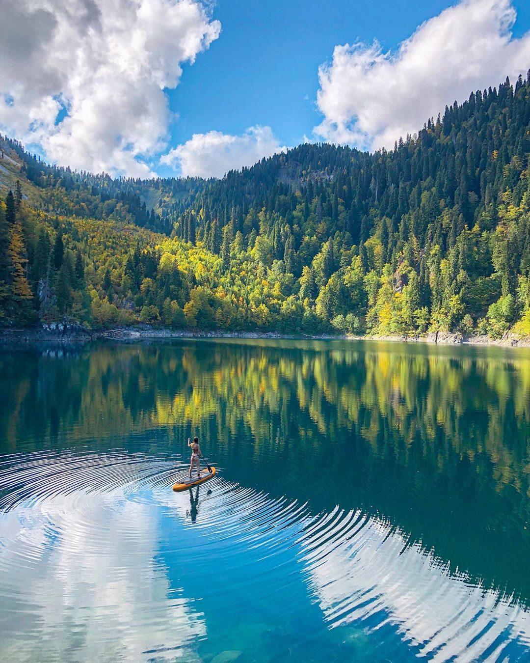 Озеро малая Рица Абхазия