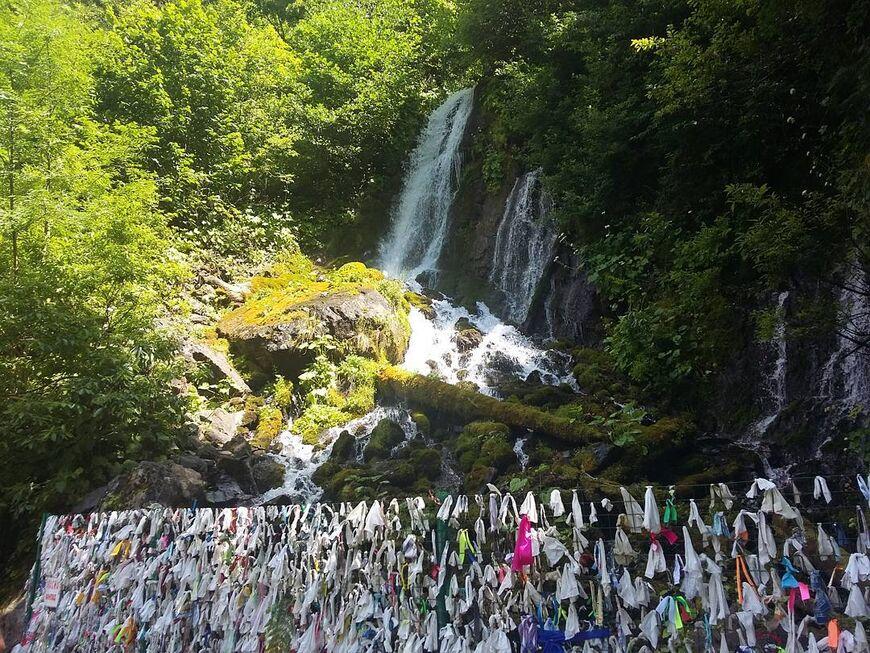 Водопад Птичий Клюв Абхазия