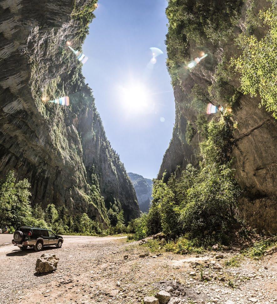 Юпшарское ущелье (Каменный мешок) Абхазия