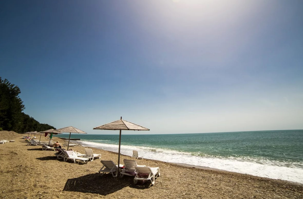 фото: Пансионат Мюссера - пляж и море