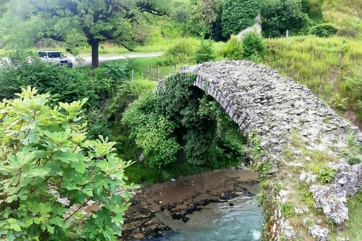фото: Беслетский мост (Абхазия)