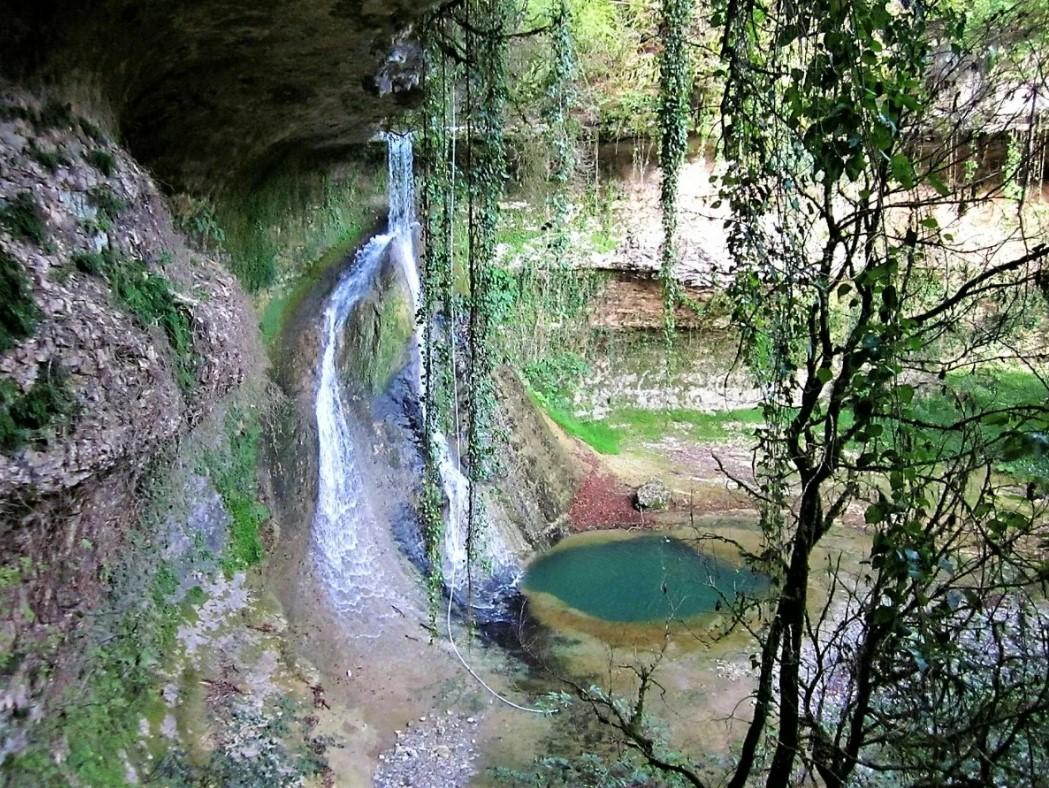 Барьялский водопад в Абхазии