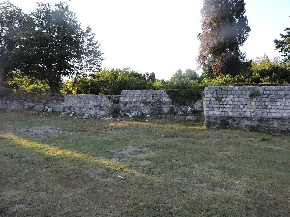 Византийское городище (древний Питиус) Абхазия