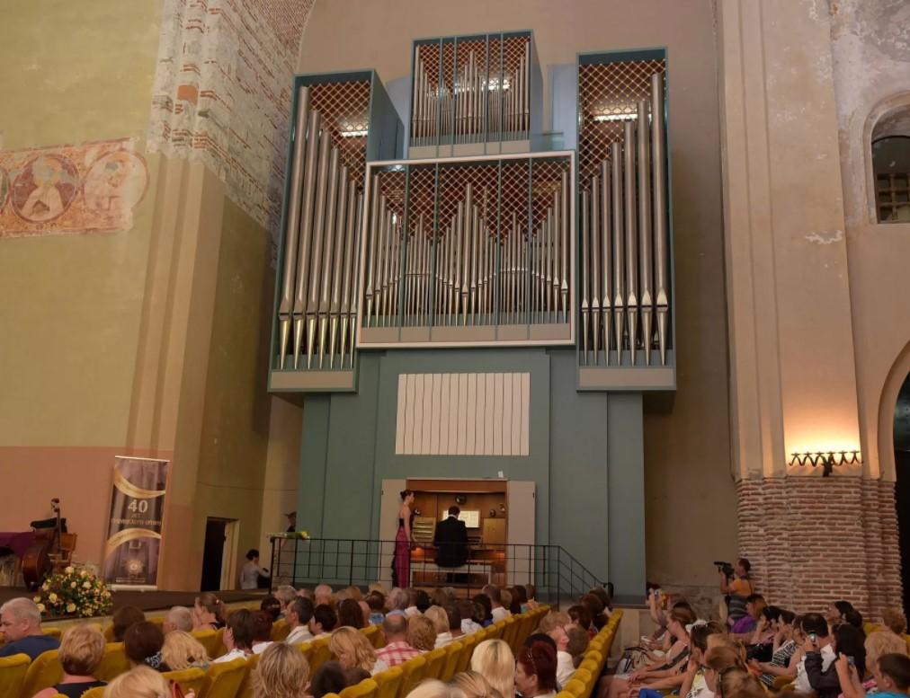 Концерт органной музыки в Пицундском соборе
