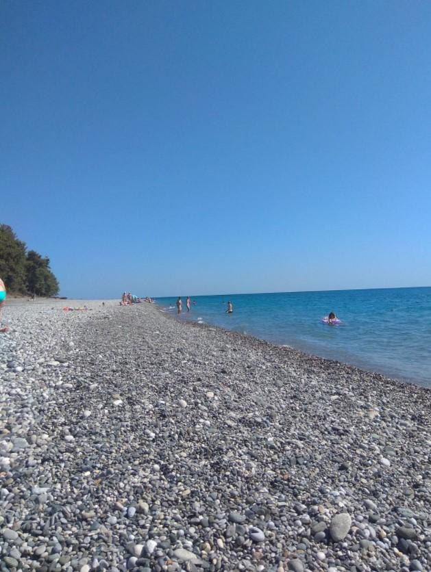 фото: Море, солнце, пляж в Пицунде