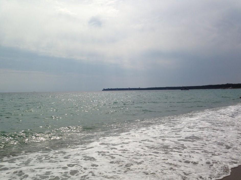 фото: Море в Пицунде