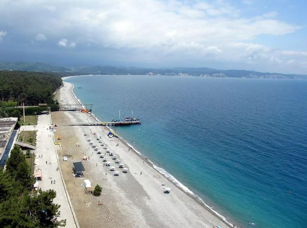 Курорты Абхазии - Пицунда