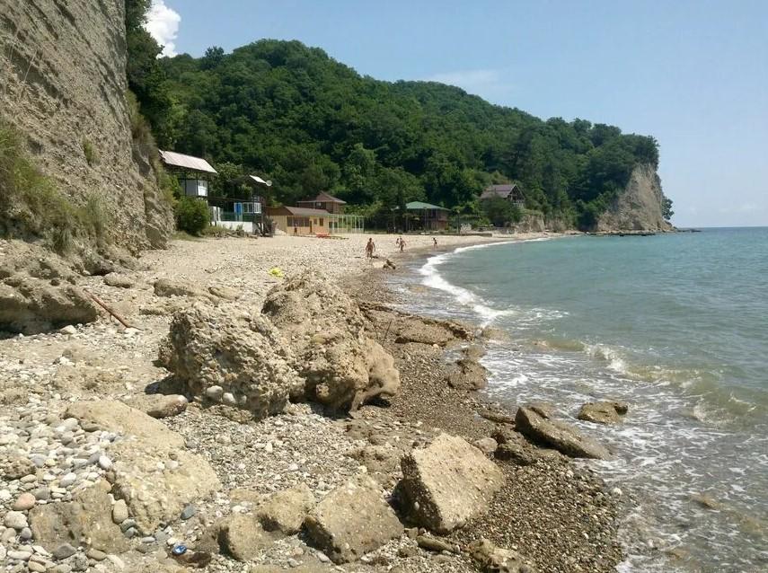 Пляж Золотая бухта