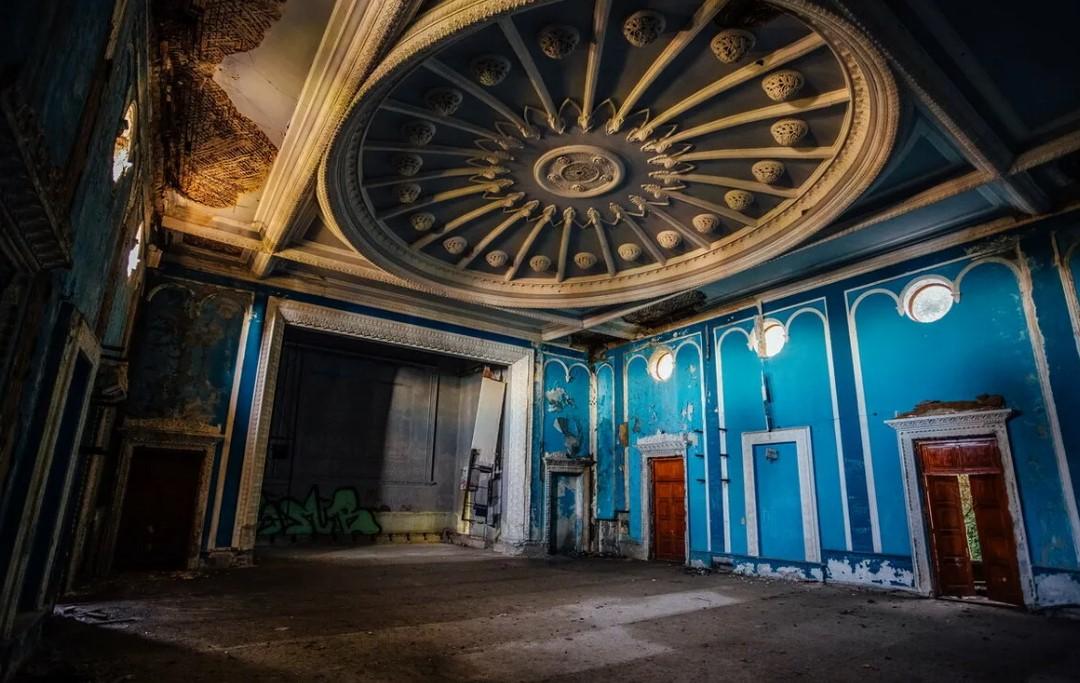 Зимний театр. Гагра.