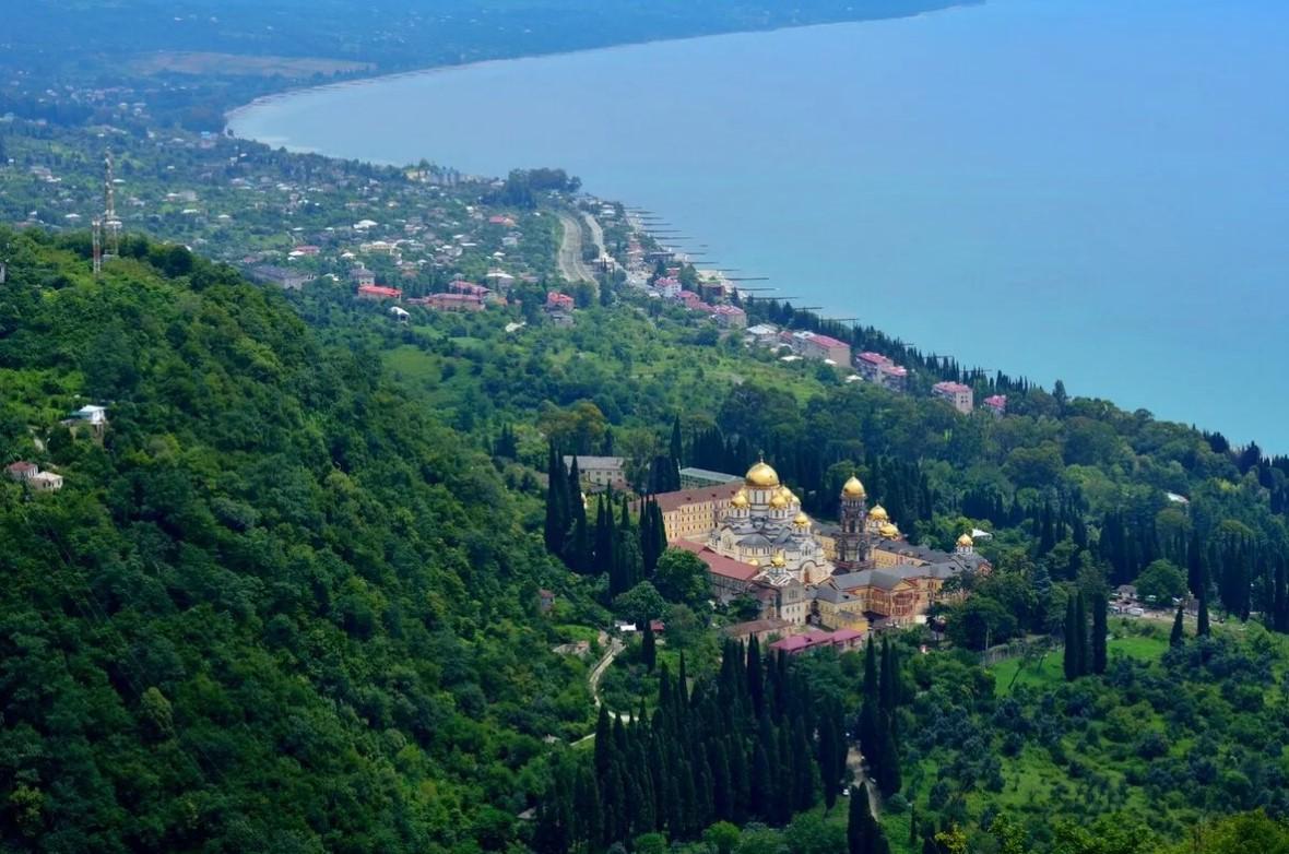 фото: Новый Афон (Абхазия)