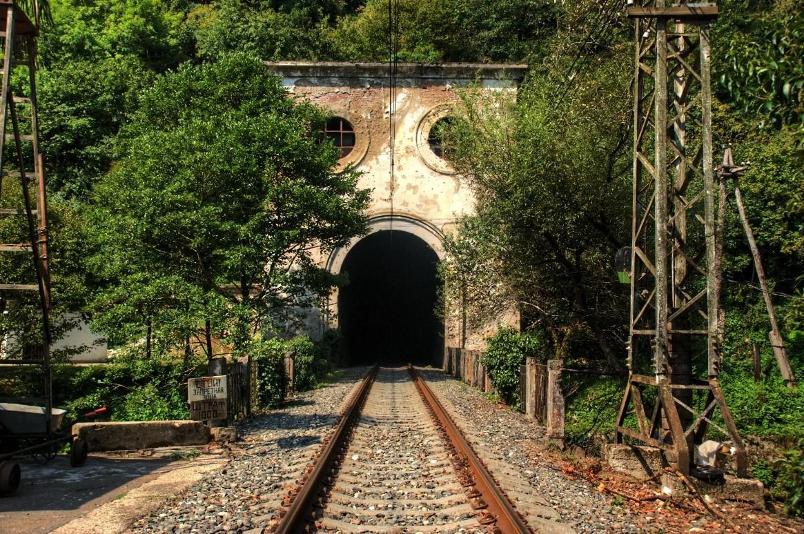 Станция Псырцха (Абхазия)