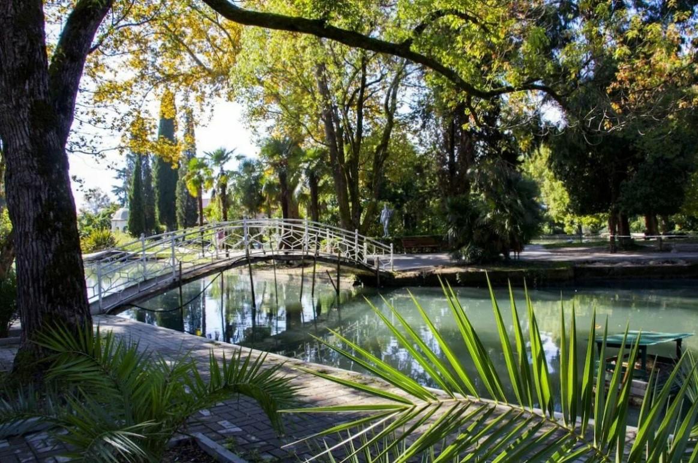 Приморский парк в Новом Афоне (Абхазия)