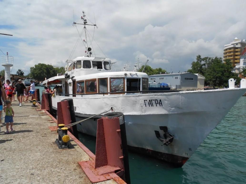 Экскурсия на морском корабле